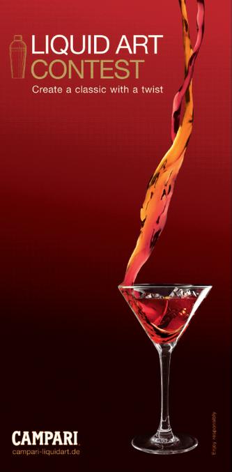 Liquid Art Contest Campari